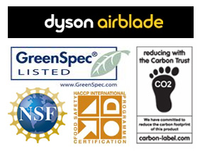 Dyson Airblade Certifications