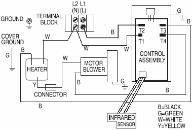 xlerator series hand dryers 480 277 volt motor wiring diagram