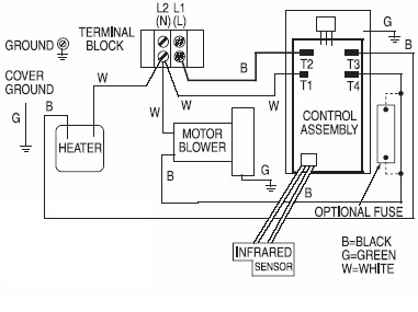 Xlerator hand dryer wiring diagram