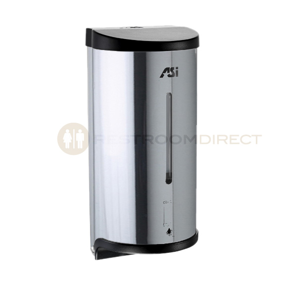 Asi Soap Dispenser ~ Asi roval and stainless steel automatic soap