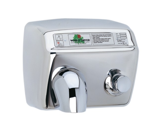 world dryer model a series hand dryers