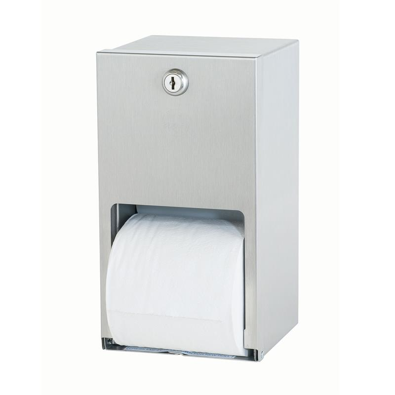 Bradley 5402 000000 Surface Mount Stacked Roll Toilet