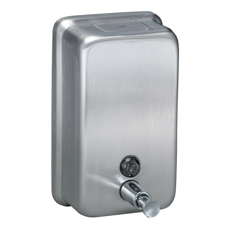 Bradley 6562 000000 Wall Mount Push Button Soap Dispenser