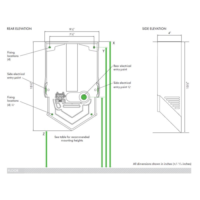 electrolux dryer wall mounting instructions