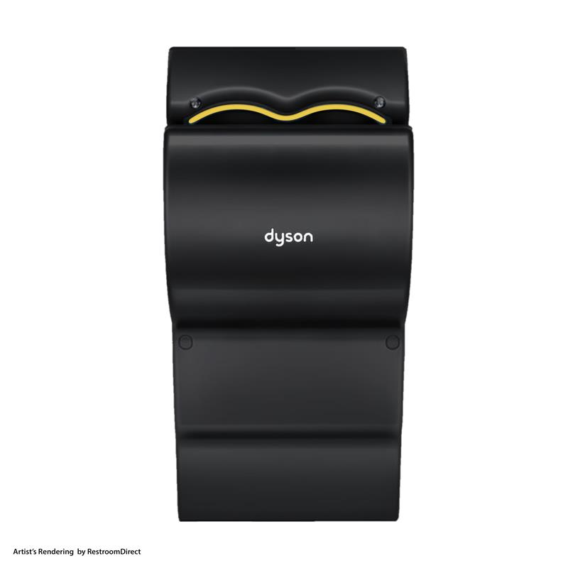dyson airblade ab14 db 120v black 50 quieter. Black Bedroom Furniture Sets. Home Design Ideas