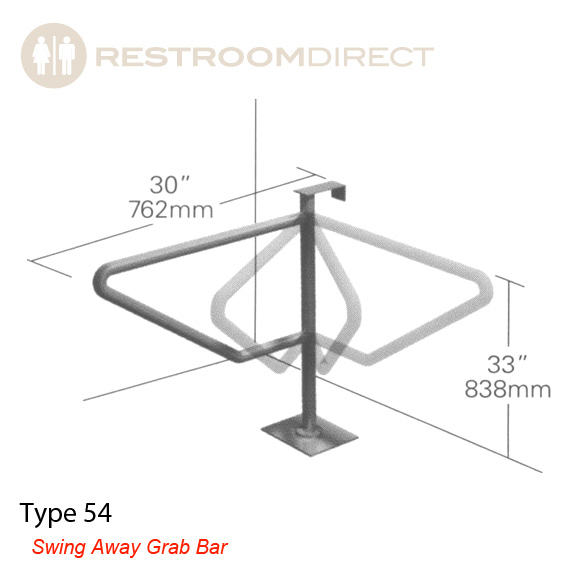 Shower Grab Bars Rona stainless steel grab bars & safety rails