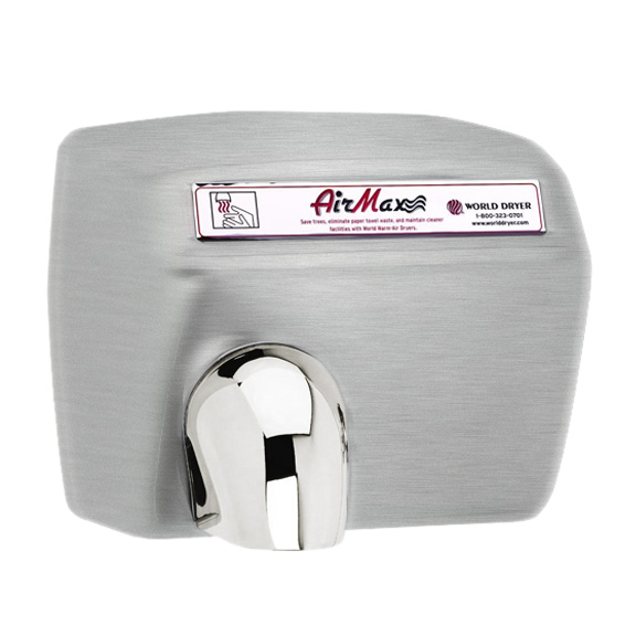 World Dryer Airmax Series Hand Dryers