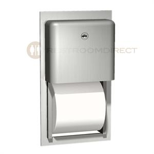 Asi Profile 9031 Recessed Mount Stainless Steel Dual Roll