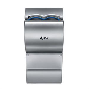 The unique Dyson Airblade with polycarbonate cabinet and fastest dry time of  any hand dryer.