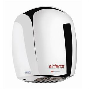 Airforce (J series) J-970 (Polished chrome cover) Available in 110V/120V, 208V or 220V/240V. Adjustable air flow. Efficient!