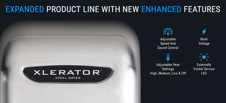 detailed information on the xlerator hand dryer by excel dryer Coxreels Wiring Diagram