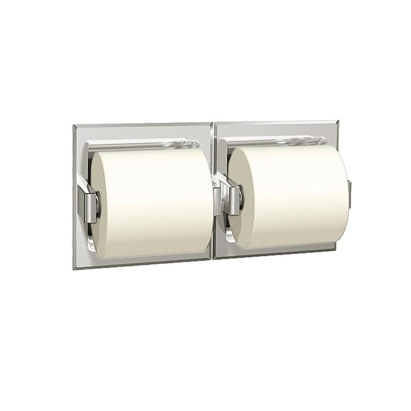 Asi Wall Mount Dual Roll Toilet Paper Holder