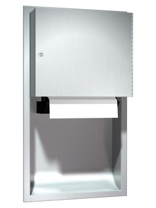 ASI 045224A 9 Automatic Surface Mounted Roll Paper Towel Dispenser.