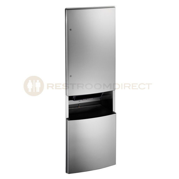 Exceptionnel ASI 2046921A Stainless Steel Recessed Paper Towel Dispenser And Waste Bin.