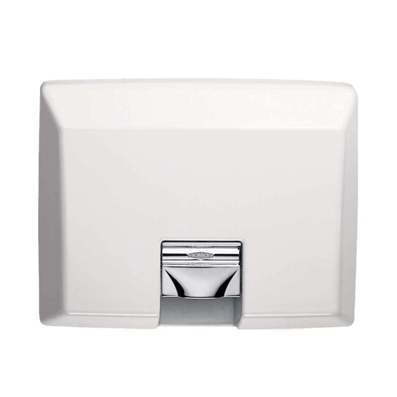 Bobrick Aircraft B 750 Automatic Semi Recessed Hand Dryer