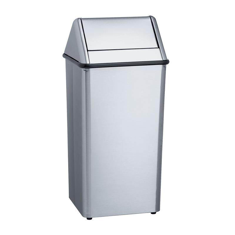Bradley 377 360000 Stainless Steel Covered Waste