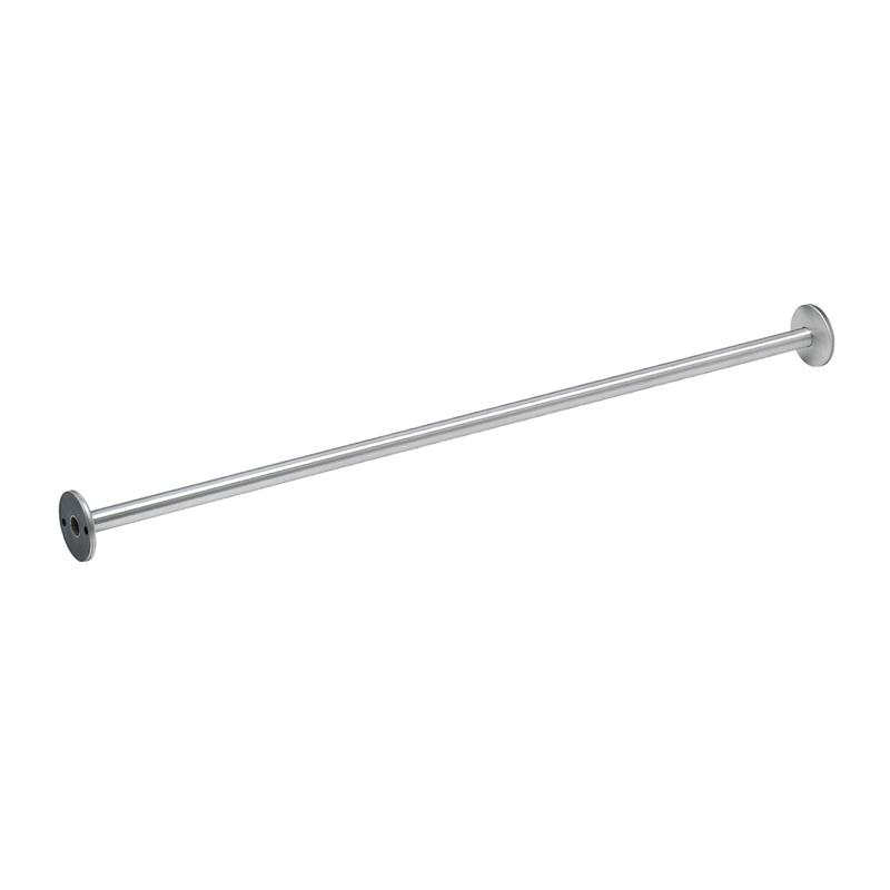 Bradley 9539 60 Stainless Steel Shower Curtain Rod With Concealed Mounts