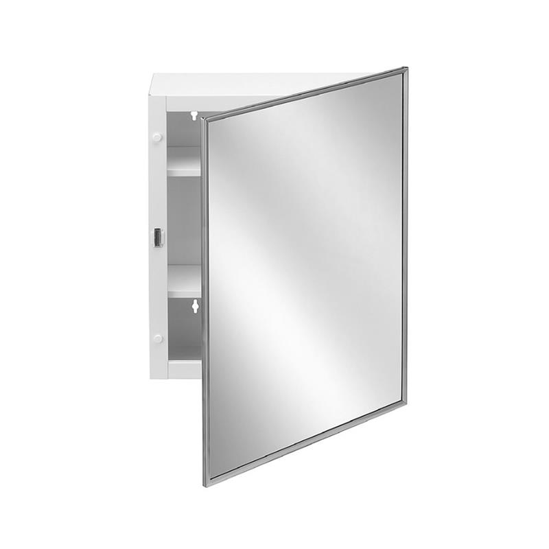 Bradley 9661-00 Medicine Cabinet with Stainless Steel Frame
