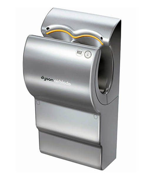 the world famous dyson airblade hand dryers