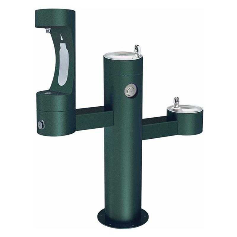 Elkay Lk4430bf Ada Tube Steel Drinking Fountain With