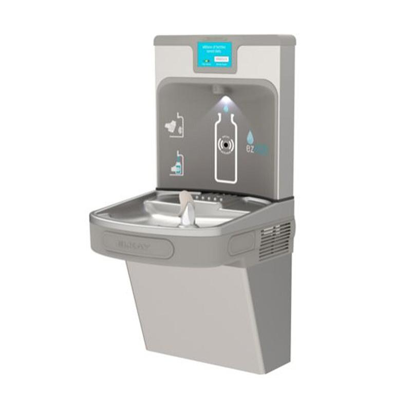 Elkay LZS8WSLP Filtered Water Cooler & Enhanced EZH2O