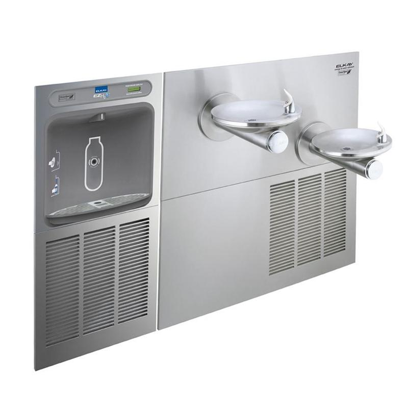 Elkay Ezws Sfgrn28k In Wall Ezh2o Bottle Filling Station