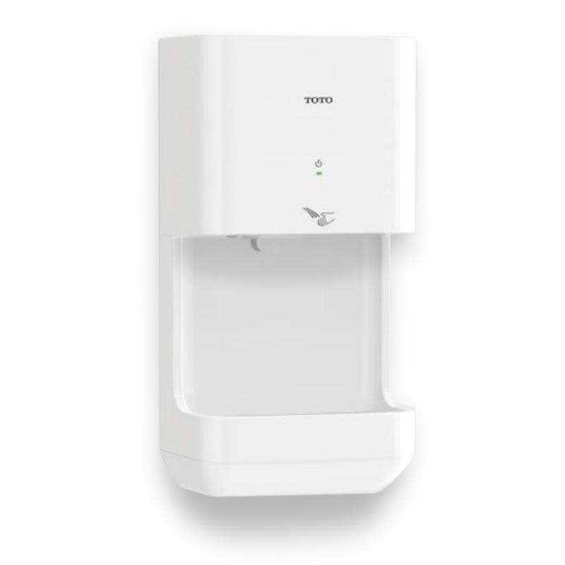 Toto Clean Dry Hdr101 White High Speed Hand Dryer