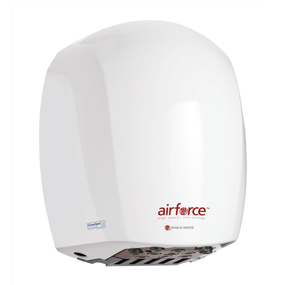 World Dryer Airforce High Speed Hand Dryer