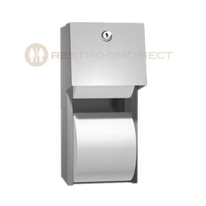 Asi 0030 Surface Mount Stainless Steel Dual Roll Toilet