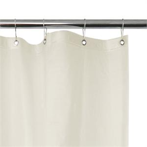 ASI 1200 V Heavy Duty White Vinyl Shower Curtain 42 48 60 72 Or 84 Wide