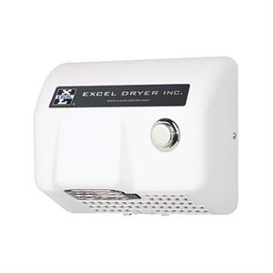 Excel Lexan Push Button Hand Dryer