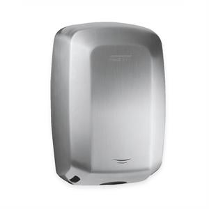 Compact, high speed, stainless steel hand dryer
